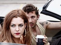 Shia LaBeouf and Riley Keough in American Honey (2016)