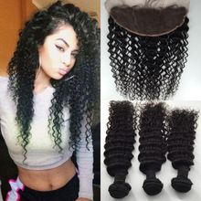 8A Malaysian 13x4 Deep Wave Lace Frontal Closure With Bundles Hair Bundles With Lace Frontals Closure Bleached Knots     #http://www.jennisonbeautysupply.com/    http://www.jennisonbeautysupply.com/products/8a-malaysian-13x4-deep-wave-lace-frontal-closure-with-bundles-hair-bundles-with-lace-frontals-closure-bleached-knots/,      (1) Material:100% virgin human hair,the hair raw is collected from related countries. (2) Quality: no shedding, no tangle, no lices,top quality, No chemical,no…