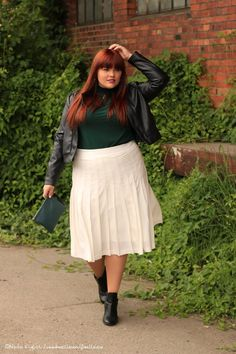 Hülle & Fülle Plus Size Fashion & LIfestyle Blog: Fashion Week Fever – Be real!, be yourself, One skirt - 20 Blogger, Blogger contest, Staysoulfully, Curvy, Confident, Red Hair, Fashion Blogger, Germany, Effyourbeautystandards, Love yourself