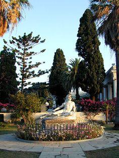 Gardens of Villa Achilleion - Corfu, Greece