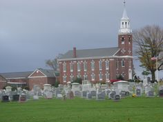 Beautiful Church on our way to Scranton, PA