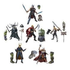 Marvel Legends Figures, Hulk, Thor, Action Figures, Waves, History, Comics, Sideshow Collectibles, Toy