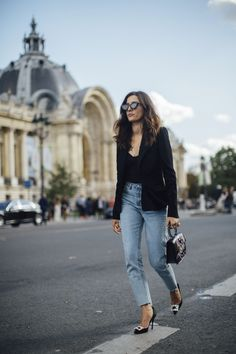Paris Fashion Week Street Style Spring 2018 Day 5 Cont., The Best Street Style from Paris Fashion Week available to view at TheImpression.com