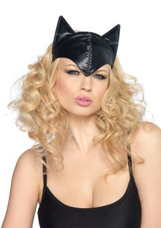 ladies sexy black catwoman mask-adult size womens cute sexy leg avenue catwoman style feline femme fatale fancy dress black cat mask headpiece on a headband Catwoman Halloween Costume, Sexy Cat Costume, Catwoman Cosplay, Cat Costumes, Costume Ideas, Halloween Cat, Cosplay Ideas, Halloween Ideas, Fairy Costumes
