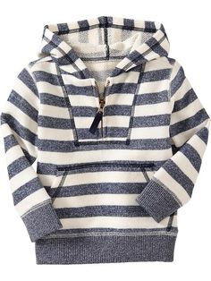 Old Navy | Striped Terry-Fleece Hoodies for Baby. If I had a little boy. This would be his in a second