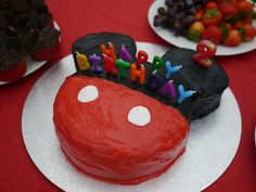 I may actually be able to make this one - most ones I see look impossible! Mickey Mouse birthday cake