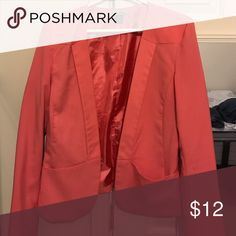 Pink blazer! Purchased at Nordstrom Rack. Worn Only once! Does not button in front. Jackets & Coats Blazers