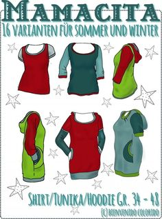Mamacita, Creative Ebook - farbenmix online shop - Sewing Patterns, instructions for sewing