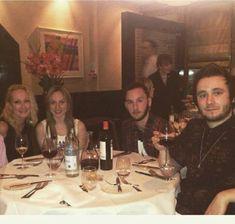 Paddy, Kia , Griffin and Austin Dickinson / mars 2015