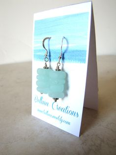 Bellina Creations: How To Make Handmade Earring Cards