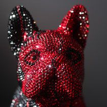 French Bruno by J. Edelweiss, Swarovski, Butterfly, Bling, Brooch, Sculpture, Christmas Ornaments, Crystals, Holiday Decor