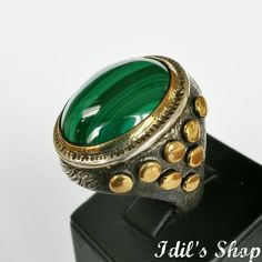 Authentic Turkish Ottoman Style Handmade 925 Sterling Silver Ring by Idil's Shop, $150.00