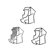 einfaches Strandkorb Motiv in 3 Variationen als Plotterdatei zum Plotten aus beliebigen Materialien (Fotokarton, Vinyl-, Flexfolie...) zum Gestalten eigener Karten oder zum Dekorieren deines zu Hauses.