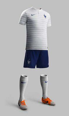 France National Football Team Away Kit for 2014 x Nike