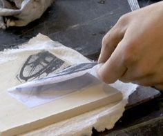 Photo Lithography on clay- a surprisingly simple way to print images on clay Clay Art Projects, Ceramics Projects, Ceramics Ideas, Ceramic Techniques, Pottery Techniques, Ceramic Clay, Ceramic Pottery, Ceramic Decor, Ceramic Arts Daily