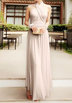 Beautiful bridesmaid dress.