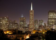 Looking at scenery images, San Francisco is officially the City and County of San Francisco. San Francisco At Night, San Francisco City, San Francisco California, San Francisco Skyline, Northridge Earthquake, Best Camera Lenses, Unique Buildings, Best Cities, Willis Tower