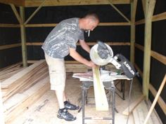 Build A Shed 551902129339594444 - How to Build a Cabin on a Budget : 15 Steps (with Pictures) – Instructables Source by fudgefeliostaff Building A Small Cabin, Building A Shed, Building Ideas, Custom Woodworking, Woodworking Projects Plans, Quick Square, Rough Sawn Lumber, Board And Batten Siding, Backyard Sheds