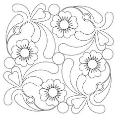 The stewart block 002 digital pattern was designed by Kim Diamond specifically for Statler Stitchers, Intelliquilters, ABM Innova, HandiQuilters and CompuQuilte Applique Quilt Patterns, Floral Embroidery Patterns, Hand Embroidery Designs, Vintage Embroidery, Applique Designs, Embroidery Stitches, Quilting Stencils, Machine Quilting Designs, Free Motion Quilting
