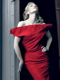 Cate Blanchett by Annie Leibovitz for Vanity Fair February 2009