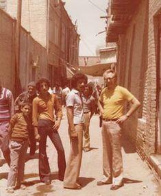 European tourists visit to Peshawar - 1974