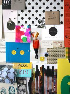 corkboard | erin jang's studio