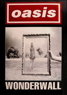Vintage Music Art - Oasis Wonderwall 0665 – The Vintage Music Poster Shop Rock Poster, Poster Wall, Poster Prints, Gig Poster, Oasis Album, Wonderwall Oasis, Oasis Band, Vintage Music Posters, Retro Posters