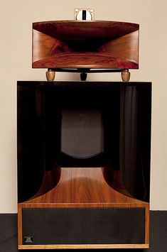 Burwell And Sons Mother Of Burl horn loudspeaker...