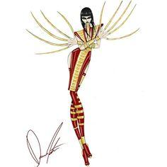 X-Men, Lady DeathStrike by Daren J #xmen #ladydeathstrike #marvelcomics #marvel #comics #comicbook #highfashion #fashion #fashionart #fashionillustration #fashiondesign #art #highfashionart #highfashionillustration #highfashion #highfashionxmen #design #illustration #glamart #glamour #glamorous #glam #darenj