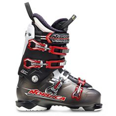8dd33ab450 Nordica Nxt Ski Boots Smoke Womens Sz 95 265 -- Details can be found by  clicking on the image.