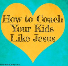 How Jesus Was Coached There was nothing random in the life of Jesus. This includes learning the carpenter craft from His earthly father in preparation for His season of earthly leadership.