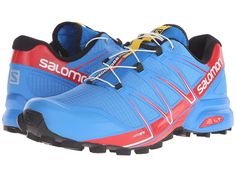 The Salomon Speedcross Pro is an aggressive trail running shoe that provides protection and incredible grip on the trails.