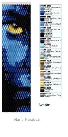 схемы браслетов мозаичное плетение - Поиск в Google