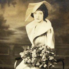Glamarous Woman.1920s. NY.Sepia Antique Photo