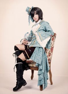 Ciel Phantomhive: Kuroshitsuji #cosplay