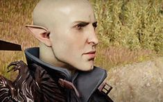I love that I can mouth read him!! Seriously I love the facial animations in Inquisition.
