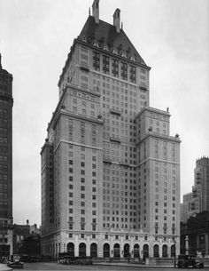 The 10 Tallest Buildings Ever Demolished: SAVOY-PLAZA HOTEL, New York City