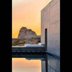 Saturday escape! What a stunning location! Amangiri Suite Utah. Architect…