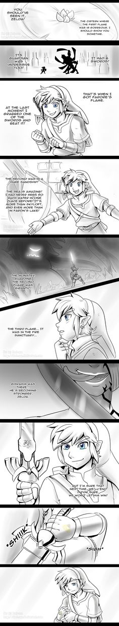 Skyward Sword - Waiting P. 1 - spoilers by Ferisae.deviantart.com on @deviantART