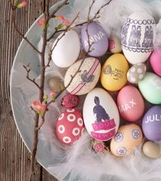 easter eggs getty images