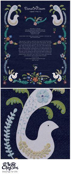 EleyOr(Ori) Snir Illustrator, designer, artist & creator Ketubah Art, Fine art prints, Embroidery and delicate illustrations. Home Wall Decor, Wedding Vows, Keepsakes, Fine Art Prints, Delicate, Etsy Seller, Greeting Cards, Kids Rugs, Couple