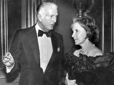Rachel Mellon y Hubert de Givenchy.