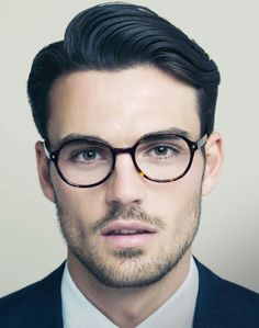 Specs make the man. OMG I just pinned this because he is too handsome. Can my future hubby look like this?