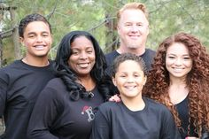 Gorgeous interracial family #love #wmbw #bwwm (This is the daughter of the late singer Barry White. Years ago they were featured on TLC's A Baby Story.)