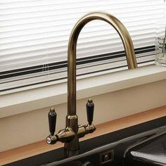 Brushed Steel Kitchen Taps, Kitchen Sink Taps, Bronze Kitchen, Sink Mixer Taps, Copper Kitchen, Kitchen Handles, Low Pressure Kitchen Taps, Belfast Sink