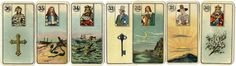 Carreras fortune cards, 1926 Game Cards, Card Games, Fortune Telling Cards, Fortune Teller, Children's Literature, Tarot, Corner, Culture, Image
