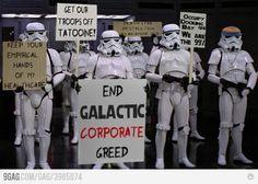 Stormtroopers on Strike