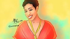 Watch Me #DrawTheCool the Founder of We CAN-CER vive! Mia Wright