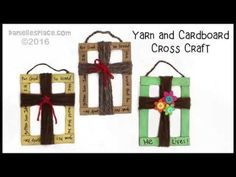 Cross Crafts for Sunday School and Children's Ministry
