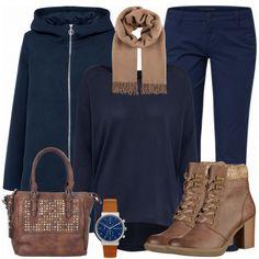 Herbst-Outfits: Blue bei FrauenOutfits.de ___ Mit diesem schönen Freizeitoutfit bist du perfekt gekleidet für jegliche alltägliche Aktivitäten: Einkaufen, Erledigungen machen, mit der besten Freundin Kaffee trinken... Bestehend aus einem schönen Pullover und einer Skinny Jeans bist du ideal für den Alltag gewappnet. Für die kalten Wintertage eignen sich schöne Stiefelchen.